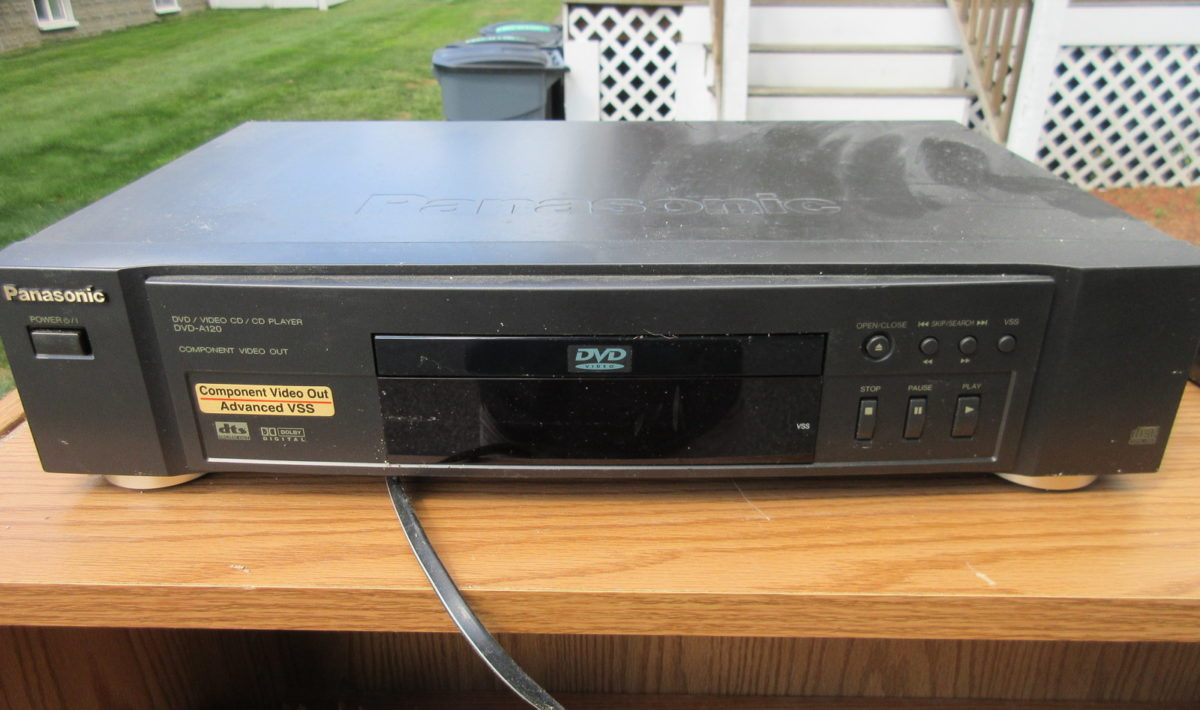 Panasonic A120 DVD player