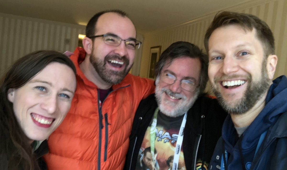 Sabriel, T.J., Andy and Ken selfie