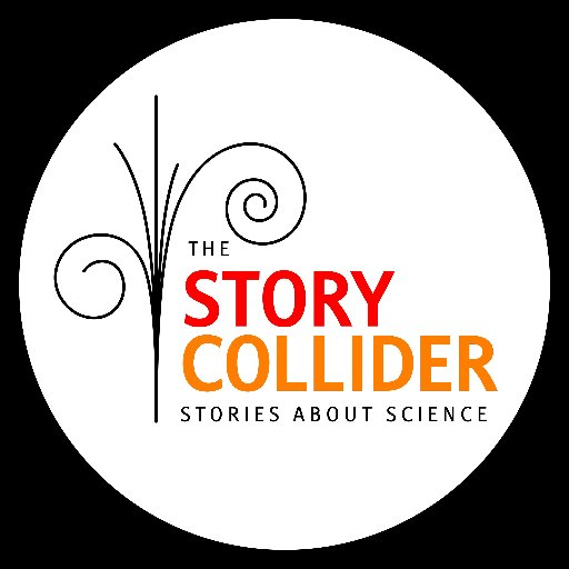 """The words """"The Story Collider: Stories About Science'"""